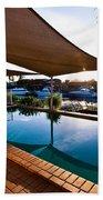Tranquil Pool Beach Towel