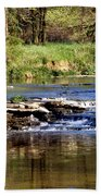 Tranquil Stream Beach Towel