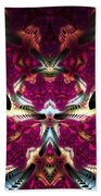 Transfigured Future Beach Towel