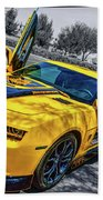 Transformers Bumble Bee 2 Beach Towel