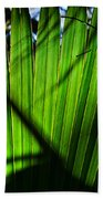 Translucent Green Beach Towel