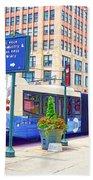 Transportation In New York 6 Beach Towel