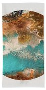 Traveling Soul Beach Towel