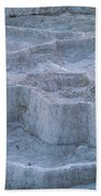 Mammoth Hot Springs Travertine Terraces Two Beach Towel
