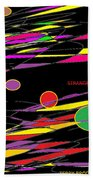 Strange By Terry R. Brooks Beach Towel