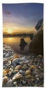 Treasure Cove Beach Towel by Debra and Dave Vanderlaan