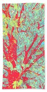 Tree Branches 8 Beach Towel