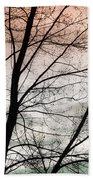 Tree Branches  Beach Towel