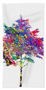Tree-colorful Beach Towel