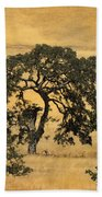 Tree Formation 2 Beach Towel