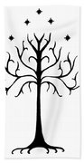 Tree Of Gondor Crest Beach Sheet