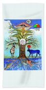 Tree Of Life #5 Beach Towel