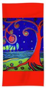 tree of life Manchester-by-the-sea Beach Towel