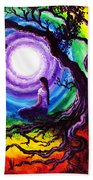 Tree Of Life Meditation Beach Towel