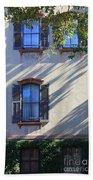 Tree Shadows On Savannah House Beach Towel