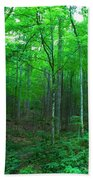 Tree Stand Beach Towel