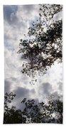 Tree Swirl Beach Towel