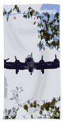 Tree Top Fly Er Beach Towel