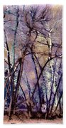Trees Are Poems That The Earth Writes Upon The Sky Beach Towel