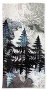 Trees Beach Towel