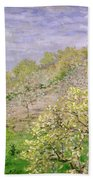 Trees In Blossom Beach Towel