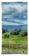 Trees In The Valley Beach Towel