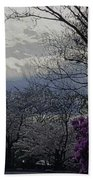 Trees Of Spring Beach Towel