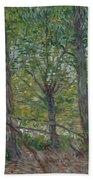Trees Paris, July 1887 Vincent Van Gogh 1853  1890 Beach Towel