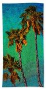 Tres Palmeras Beach Towel