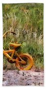 Tri Bike Beach Towel