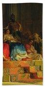 Trial Of The Apostle Paul Beach Towel
