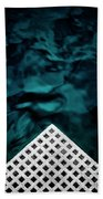 Triangular Abstract Beach Towel