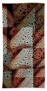 Triangulation Beach Towel