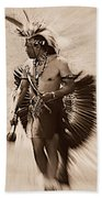 Tribal Dancer Beach Towel