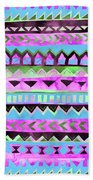 Tribal Pattern 01 Beach Sheet