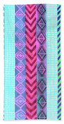 Tribal Pattern 04 Beach Towel