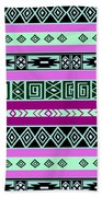 Tribal Pattern 06 Beach Towel