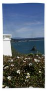 Trinidad Lighthouse California Beach Towel