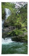 Triple Kopii Falls  Beach Towel
