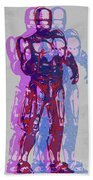 Triple Robocop Rbp Beach Towel