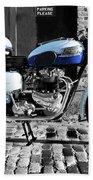 Triumph Bonneville T120 Beach Towel