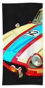 Triumph Gt Pop Art Beach Towel
