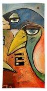 Trois Oiseaux Beach Towel