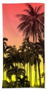 Tropical 9 Beach Towel