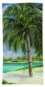 Tropical Beach Two Beach Towel