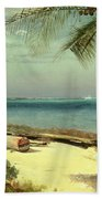 Tropical Coast Beach Towel