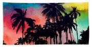 Tropical Colors Beach Towel