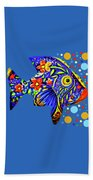 Tropical Fish Beach Towel