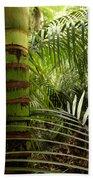 Tropical Forest Jungle Beach Towel