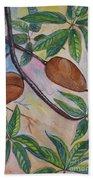 Tropical Fruit Mamey Beach Towel